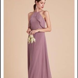 birdy grey Dresses - Birdy -grey dark mauve bridesmaid dress
